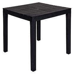 Černý zahradní stolek Crido Consulting Dulga