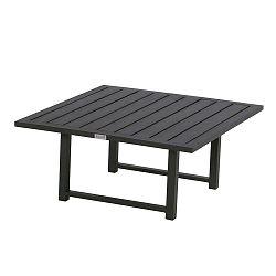 Černý zahradní stolek Hartman Tim, 90x90cm