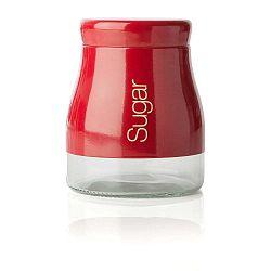 Červená dóza na cukr Sabichi Sugar