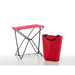 Červená skládací stolička InnovaGoods Handy