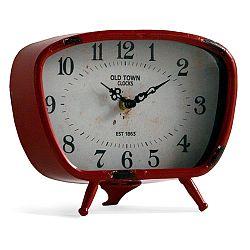 Červení stolní hodiny Geese Old
