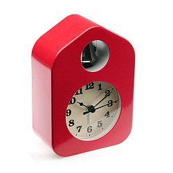 Červený budík Versa Despertador