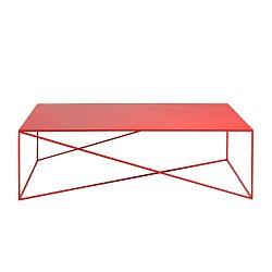 Červený konferenční stolek Custom Form Memo, šířka140cm