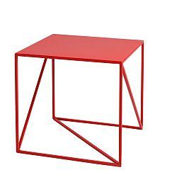 Červený odkládací stolek Custom Form Memo