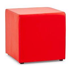 Červený puf Kokoon Rubik