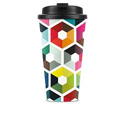 Cestovní hrnek Remember Hexagon
