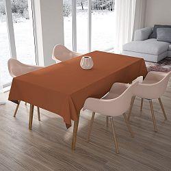 Cihlově oranžový ubrus, 140x180cm
