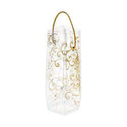 Dárková taška lahev s potiskem ve zlaté barvě Brandani Gift