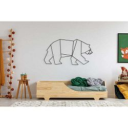 Dětská postel z borovicového dřeva Adeko Mila BOX 4,90x150cm