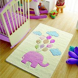 Dětský koberec Sweet Elephant Pink, 100x150cm