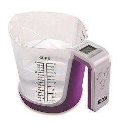 Digitální váha a odměrka JOCCA Purple Cup