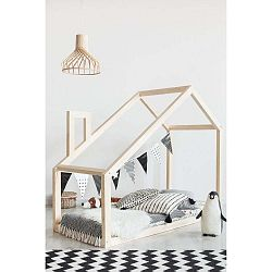 Domečková postel z borovicového dřeva Adeko Mila DM,90x140cm