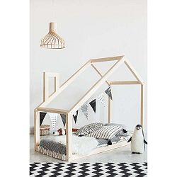 Domečková postel z borovicového dřeva Adeko Mila DM,90x190cm