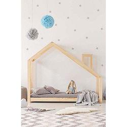 Domečková postel z borovicového dřeva Adeko Mila DMS,160x190cm