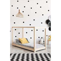Domečková postel z borovicového dřeva Adeko Mila KM,140x200cm