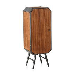 Dřevěná skříňka s kovovými nohami Geese Duke