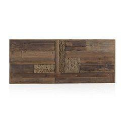 Dřevěné postelové čelo Geese Rustico, 60 x 145 cm