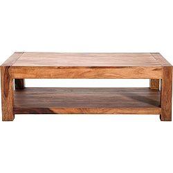 Dřevěný odkládací stolek Kare Design Couchtisch, 120x60cm