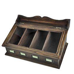 Dřevěný příborník Antic Line Couverts