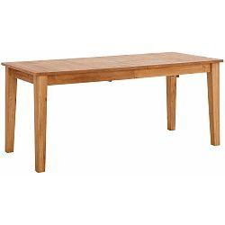 Dřevěný rozkládací jídelní stůl Støraa Amarillo, 180x76cm