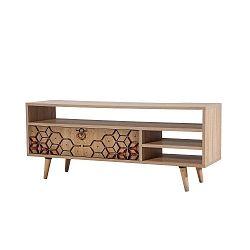 Dřevěný TV stolek Agapis Ornaments