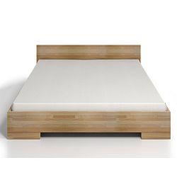 Dvoulůžková postel z bukového dřeva s úložným prostorem SKANDICA Spectrum Maxi, 160x200cm