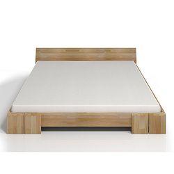 Dvoulůžková postel z bukového dřeva SKANDICA Vestre, 140x200cm