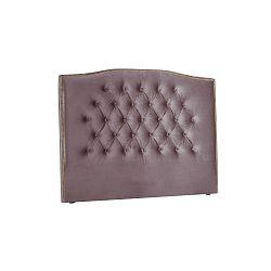 Fialové čelo postele Mazzini Sofas Anette, 180 x 120 cm