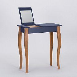 Grafitově šedý toaletní stolek se zrcadlem Ragaba Dressing Table,délka65cm
