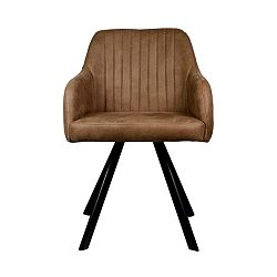 Hnědá  jídelní židle LABEL51 Floor