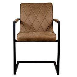Hnědá židle LABEL51 Denmark