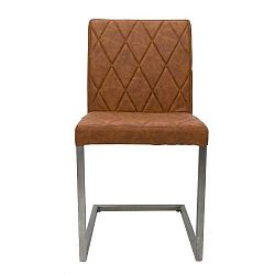 Hnědá židle LABEL51 Stockholm