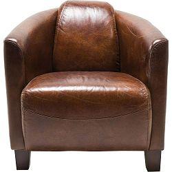 Hnědé křeslo Kare Design Cigar Lounge