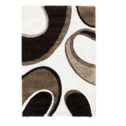 Hnědo-béžový koberec Think Rugs Fashion, 120 x 170cm