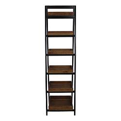Hnědo-černá knihovna HSM collection Ladder