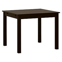Hnědý dřevěný rozkládací jídelní stůl Artemob Haily