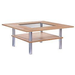 Hnědý konferenční stolek Knuds Padova, šířka112cm