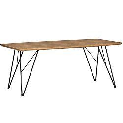 Hnědý konferenční stolek Marckeric Jaca