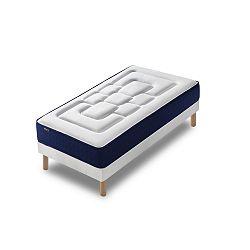 Jednolůžková postel s matrací Bobochic Paris Velours,90x200cm