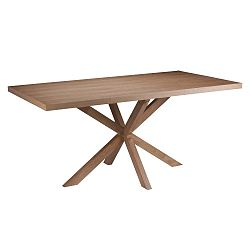 Jídelní stůl v dekoru dubového dřeva sømcasa Hela, 160x90cm
