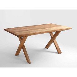 Jídelní stůl z dubového dřeva Custom Form Mavet, 180x90cm
