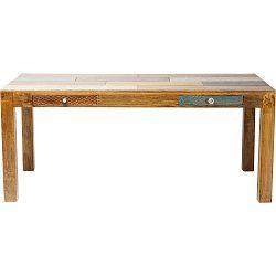 Jídelní stůl z mangového dřeva Kare Design Soleil, 180x90cm