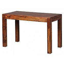 Jídelní stůl z masivního palisandrového dřeva Skyport Alison, 120x60cm