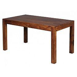 Jídelní stůl z masivního palisandrového dřeva Skyport Alison, 140x80cm