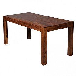 Jídelní stůl z masivního palisandrového dřeva Skyport Alison, 160x80cm