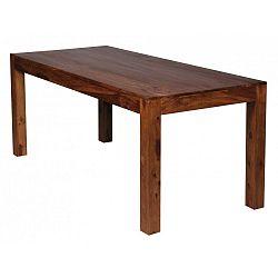 Jídelní stůl z masivního palisandrového dřeva Skyport Alison, 180x80cm