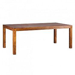 Jídelní stůl z masivního palisandrového dřeva Skyport Alison, 200x100cm