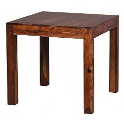 Jídelní stůl z masivního palisandrového dřeva Skyport Alison, 80x80cm