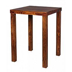 Jídelní stůl z masivního palisandrového dřeva Skyport Thalia, 80x80cm