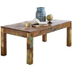 Jídelní stůl z recyklovaného mangového dřeva Skyport DELHI, 110 x 60 cm
